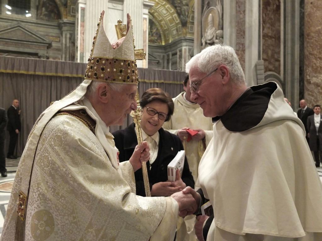Incontro Benedetto XVI