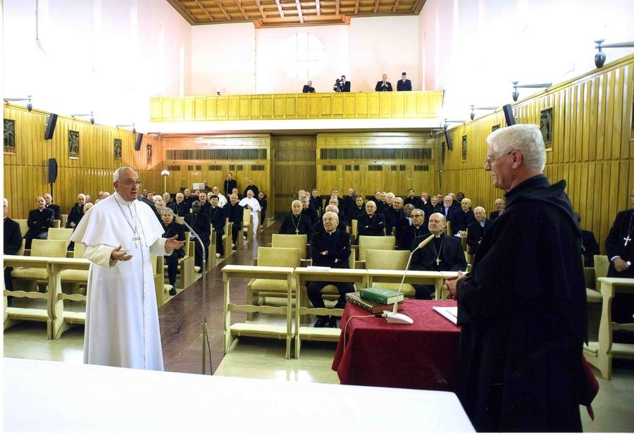 Ringraziamento di Papa Francesco