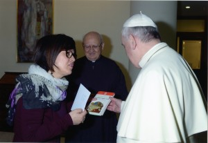 114-Antonietta-con-Papa-Francesco